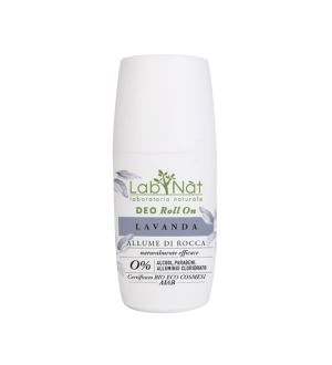 LABNATÙ DEO ROLL ON ALLUME DI ROCCA LAVANDA 75 ML