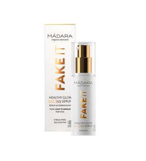 MÁDARA FAKE IT HEALTHY GLOW SELF TAN SERUM SIERO VISO AUTOABBRONZANTE 30 ML