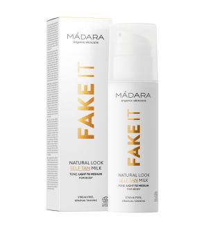 MÁDARA FAKE IT NATURAL LOOK SELF TAN MILK AUTOABBRONZANTE 150 ML